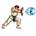 hadouken retro game