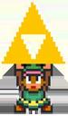 link triforce retro game