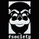 fsociety black random