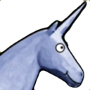unicorn blue random