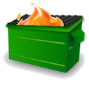 dumpster_fire by Andi