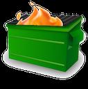 dumpster fire random