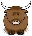 yak by Krzysztof Wilczynski