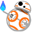 bb8flame star wars