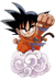 goku by Goku from dragon ball