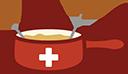 swiss fondue random