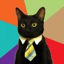 businesscat meme