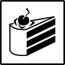 lie cake random