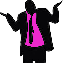 hot pink shrug