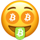bitcoin mouth face random