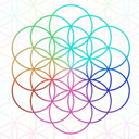 bianca flower of life random