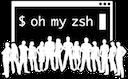 oh my zsh random
