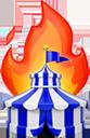 circus fire random