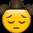 sad cowboy cowboy emojis