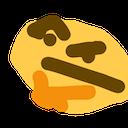 thinking face random