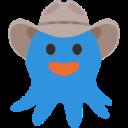 octopus cowboy cowboy emojis