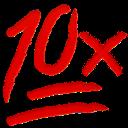 10x random