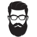 beard glasses random