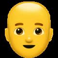 bald man random