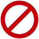 no not allowed random