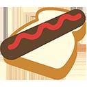 sausage in bread random