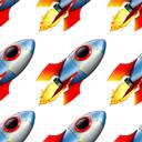 rocket pattern random