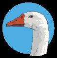 goose head random