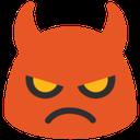 blob devil hangouts blob