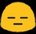 blob expressionless hangouts blob