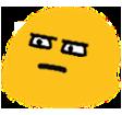 blob glare hangouts blob