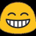 blob grin hangouts blob