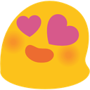 blob hearteyes hangouts blob