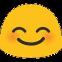 blob smile happy hangouts blob