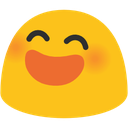 blob smile open mouth2 hangouts blob