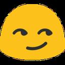 blob smirk hangouts blob