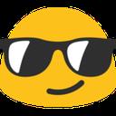 blob sunglasses hangouts blob