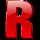 r random