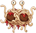 flying spaghetti monster random