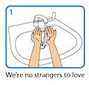 wash your hands random