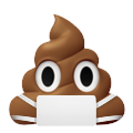 pile of poo with mask random