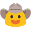 cowboy blob hangouts blob