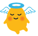 blob angel basic hangouts blob