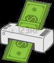 money printer random