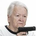 grandma with gun random