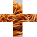 heavy spaghetti plus sign random