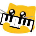 meow piano blob cats