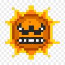 angry sun random