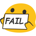 blob fail random