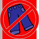 no pants random