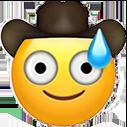 cowboy mild panic cowboy emojis